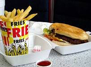 Photo of fast food that may create health problems and a need for a Toronto coffee enema.